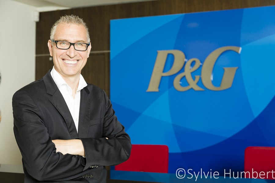 ©Sylvie Humbert - Christophe DURON, PDG de Procter&Gamble - Christophe DURON, Président Procter&Gamble France - protected by IMATAG