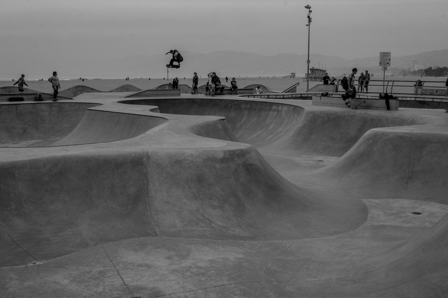 Thierry Secretan - Los Angeles 2017 - Skateboard in Venice Beach - protected by IMATAG