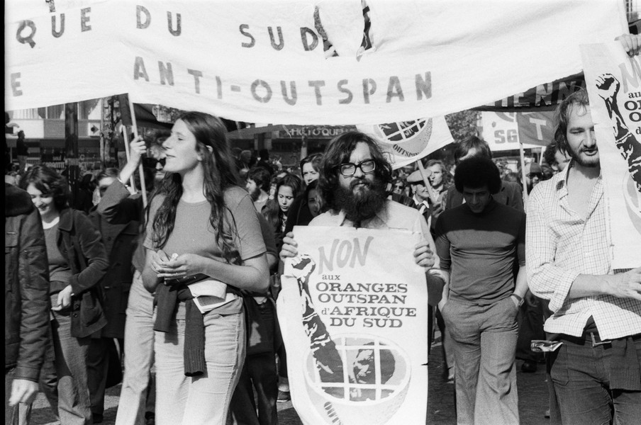© Dominique JASSIN dit ARYSTARQUE - Manif 1er mai 1975_©Dominique JASSIN dit Arystarque_014.jpg - Carte de presse N°54083 - protected by IMATAG