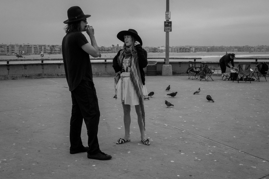 © Thierry Secretan - Los Angeles 2017 - Hats at Venice Beach - protected by IMATAG
