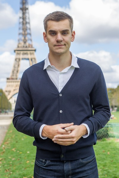 PATRICK LEVEQUE - Markus Villig, CEO de Taxify in Paris - Markus Villig, CEO de Taxify in Paris, FRANCE - 03/10/2017 - Taxify is one of the fastest growing companies in Europe and Africa with over 3M... - protected by IMATAG
