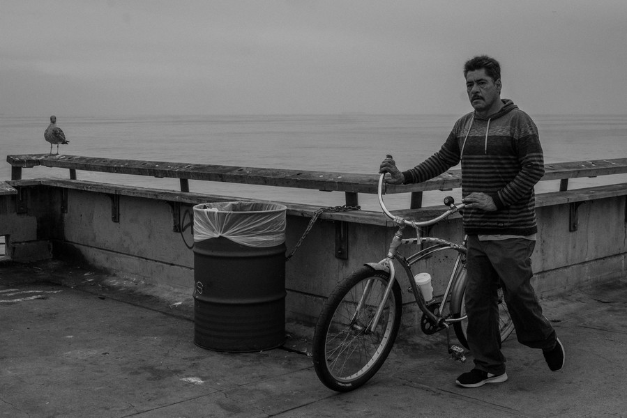 © Thierry Secretan - Los Angeles 2017 - On the pier at Venice Beach - protected by IMATAG