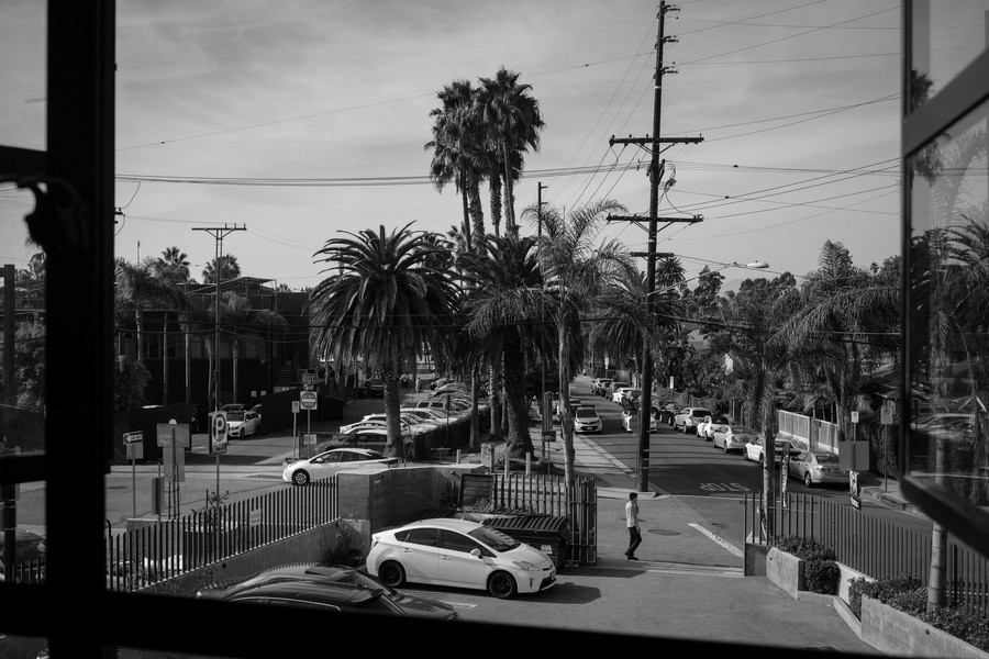© Thierry Secretan - Los Angeles 2017 - View from Havas office in LA - protected by IMATAG