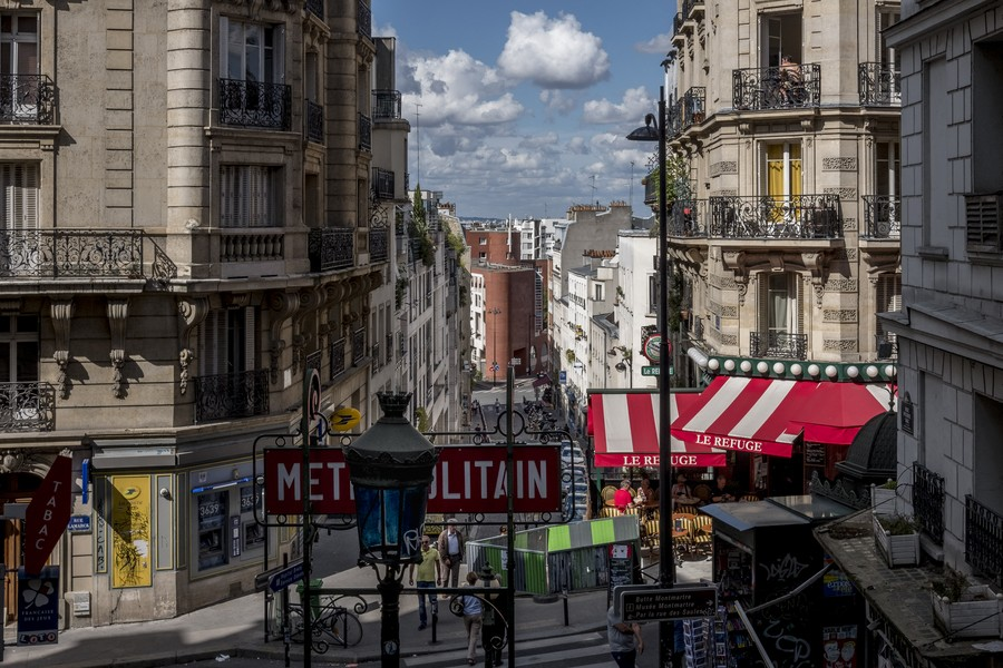 Thierry Secretan - Montmartre - protected by IMATAG