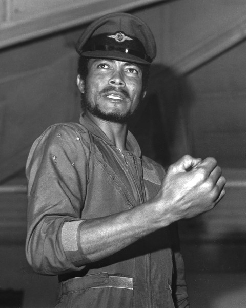 coll. Thierry Secretan - Flt. Lt. JERRY JOHN RAWLINGS CHAIRMAN OF THE AFRC. - Flt. Lt. Jerry John Rawlings chairman of the Armed Forces Revolutionary Council in 1979. He took over again in 1981 as chairman of the Provis... - protected by IMATAG