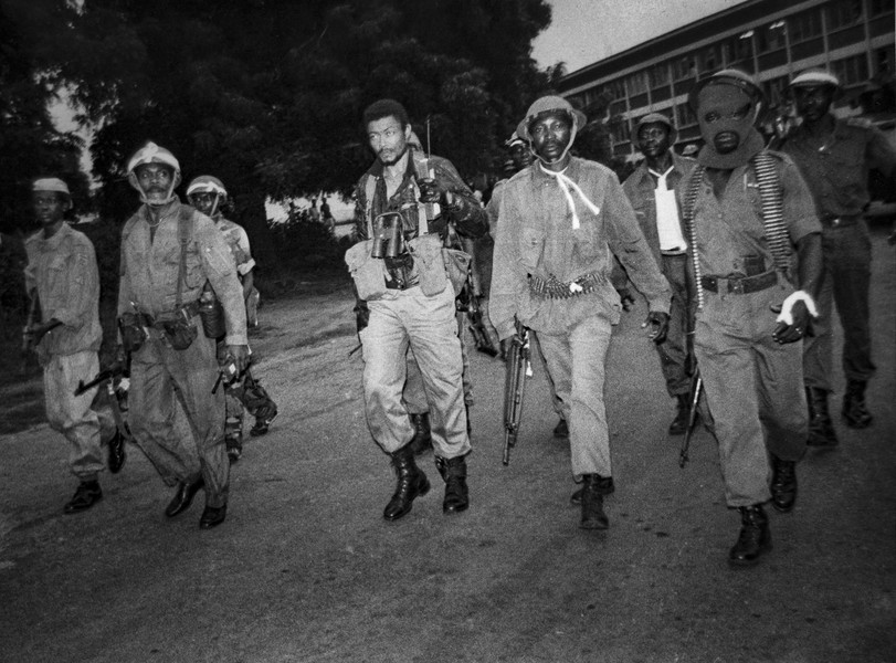 Thierry Secretan - Flt. Lt. JERRY JOHN RAWLINGS FIGHTS BACK DURING A COUP ATTEMPT AGAINST THE PNDC - protected by IMATAG