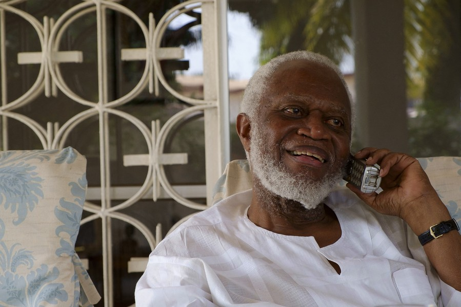 Thierry Secretan - CAPTAIN KOJO TISKATA (RTD) - Captain Kojo Tsikata (rtd) was close to President Kwame Nkrumah, went to the Congo with the Ghana Armed Forces during the 1960's crisis and l... - protected by IMATAG